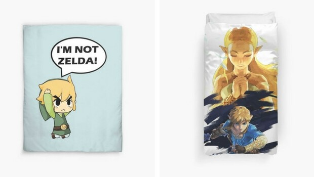 legend of zelda bedding set feat (1)