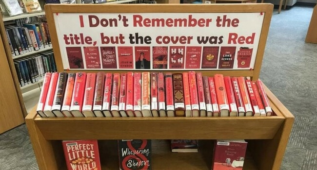 shelf for red books only feat (1)