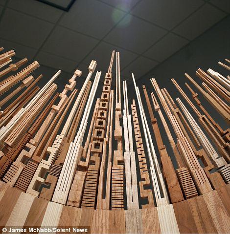 James McNabb city skyline wood 2 (1)