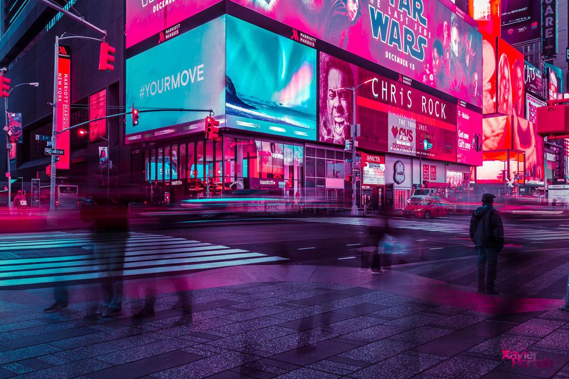 Xavier Portela new york glow 6