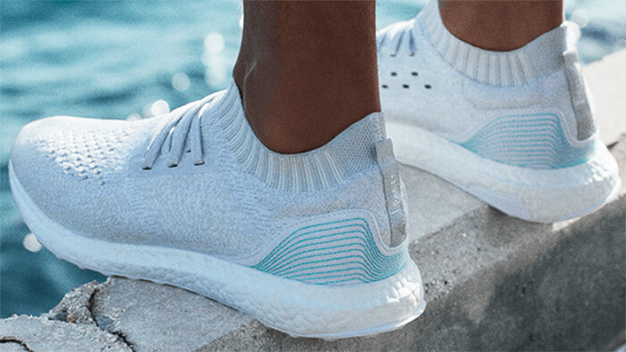 Adidas sold one million pairs of shoes made from ocean