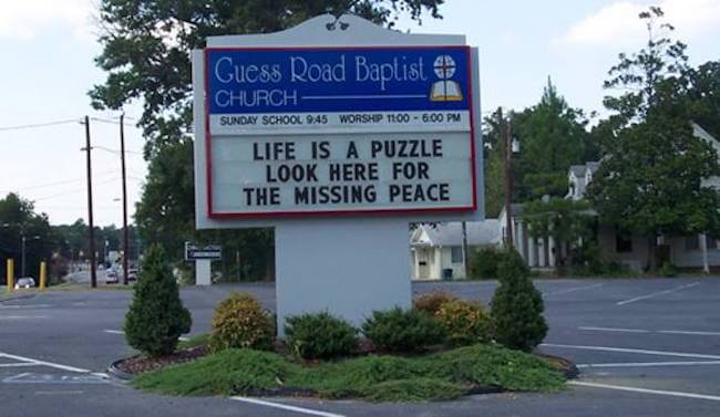 hilarious church signs 15 (1)
