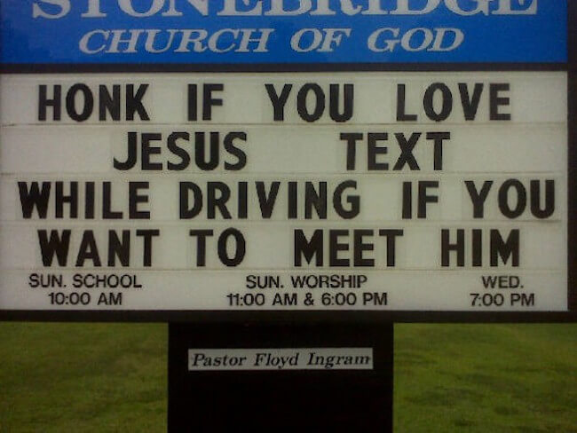 funny church entrence signs 23 (1)