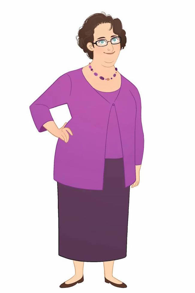 office characters animated marisa livingston 9 (1)