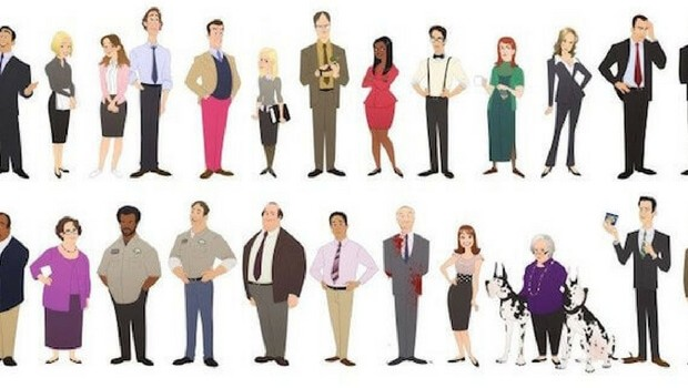the office characters animated feat (1)
