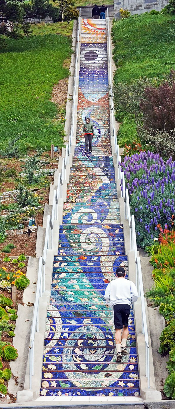 tiled stairs san francisco 1 (1)