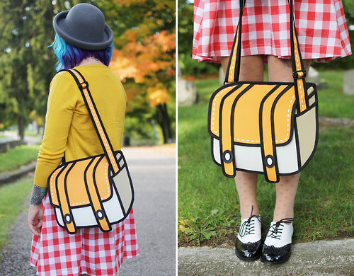 2D Cartoon Shoulder Bag 1 (1)