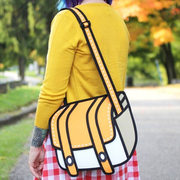 2D Cartoon Shoulder Bag 5 (1)