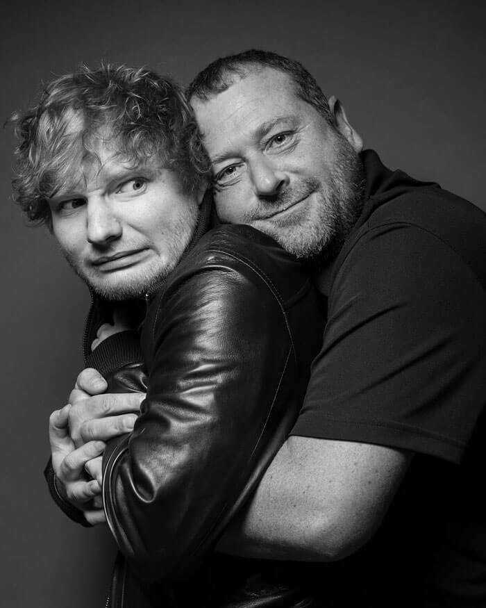 Ed Sheeran body guard instagram 1 (1)
