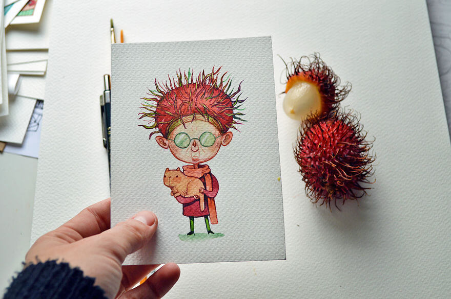 fruit illustrations marija tiurina 5 (1)