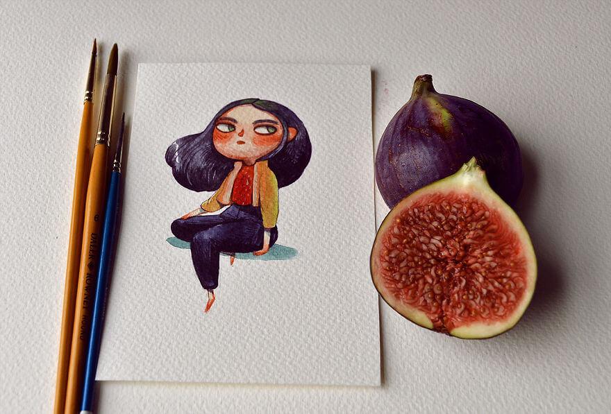 fruit illustrations marija tiurina 7 (1)