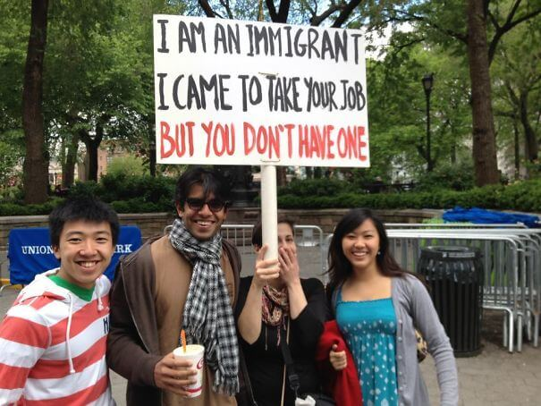 funny protesters trolling people 3 (1)