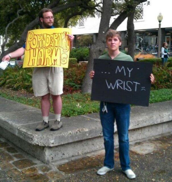 funny protesters trolling people 4 (1)