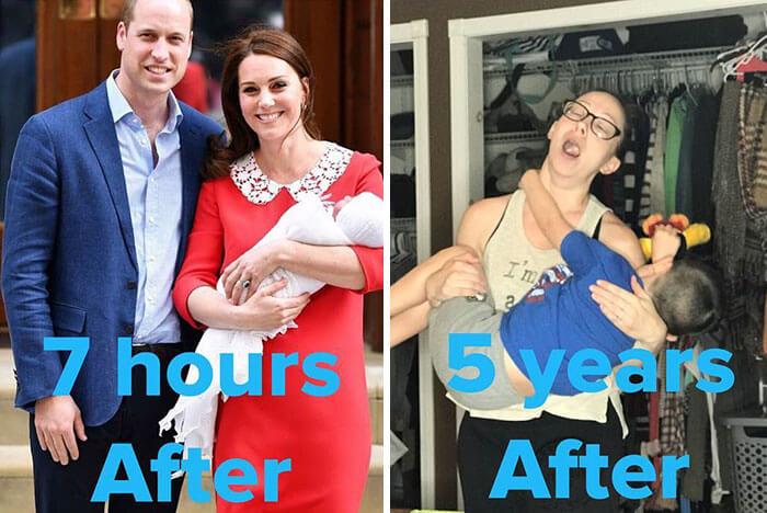 kate middleton post birth pics funny 18 (1)