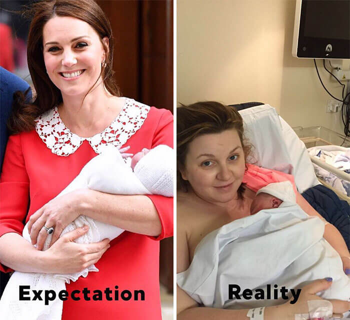 kate middleton post birth pics funny 6 (1)