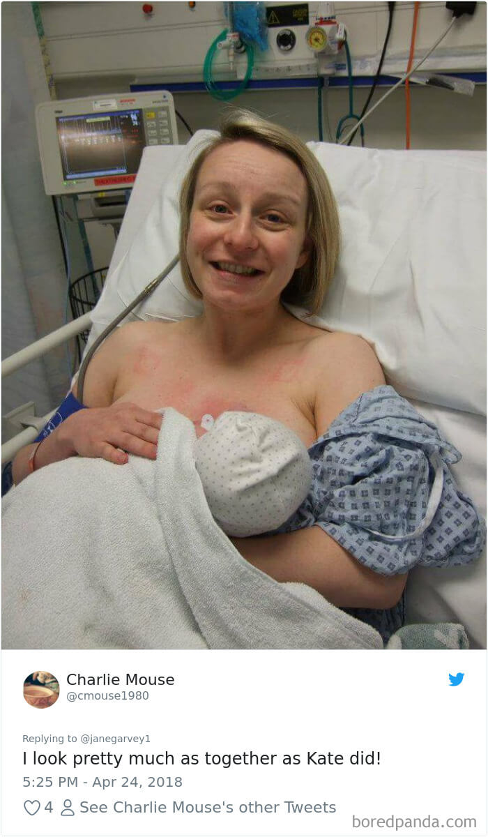 kate middleton post birth pics funny 8 (1)