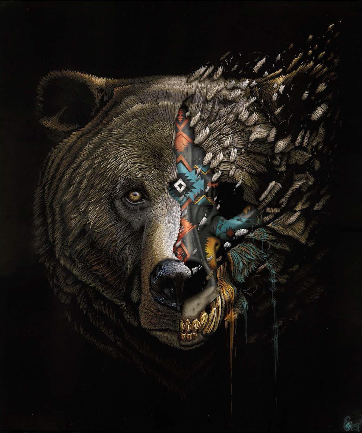 Sonny The Street Artist That Speaks Of Animals Endangered