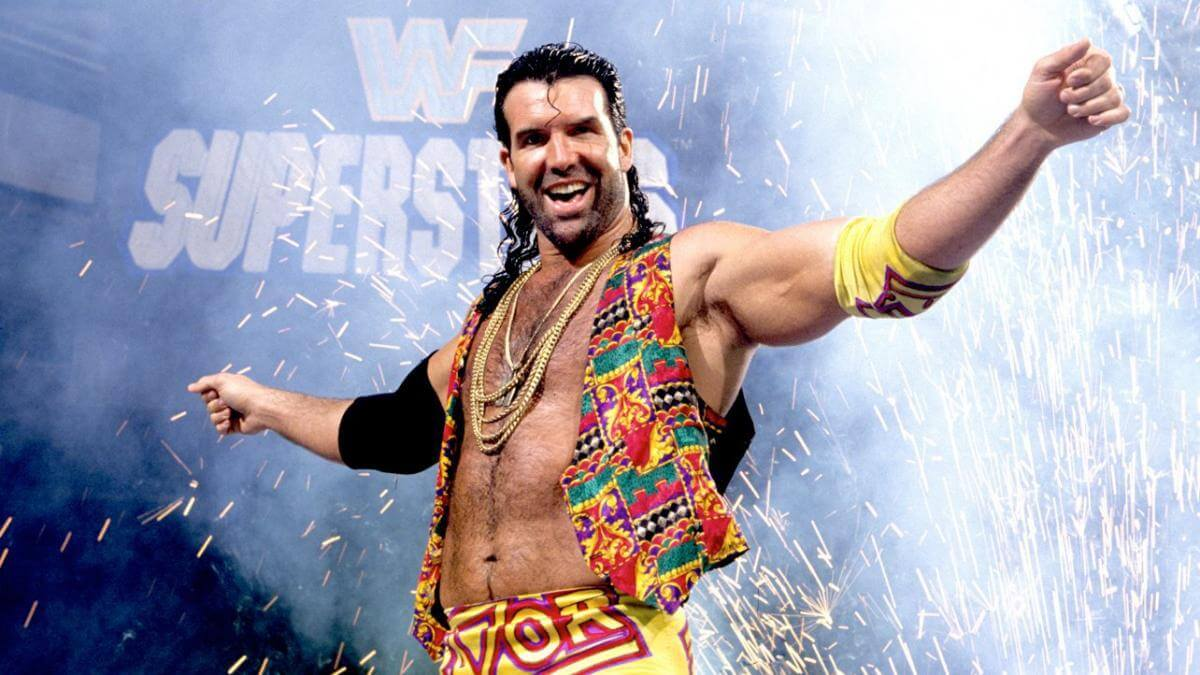 why do wrestlers wet their hair - razor ramon (1)