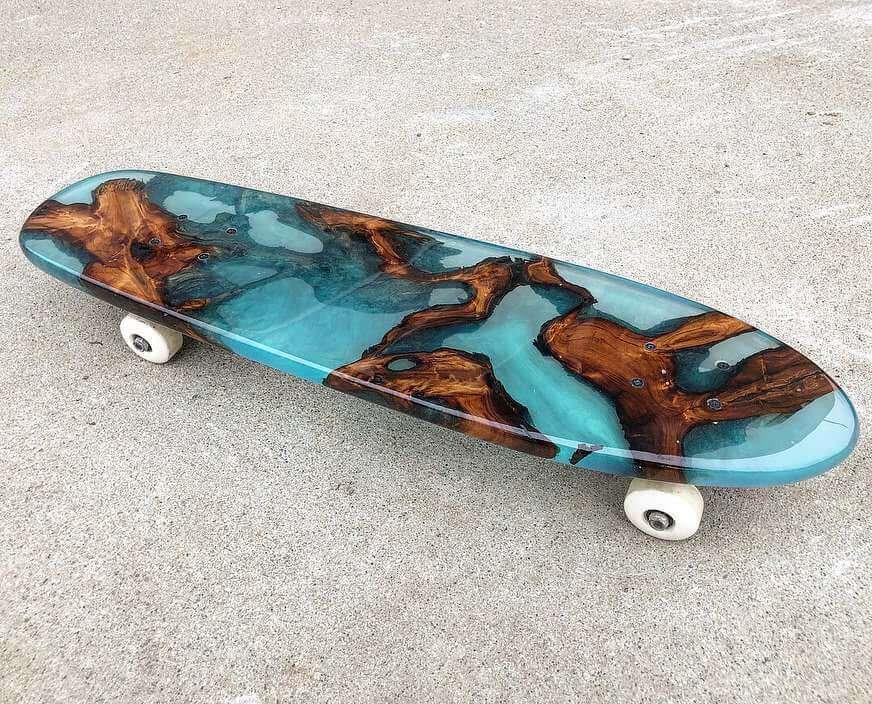 wood epoxy skateboard 1 (1)