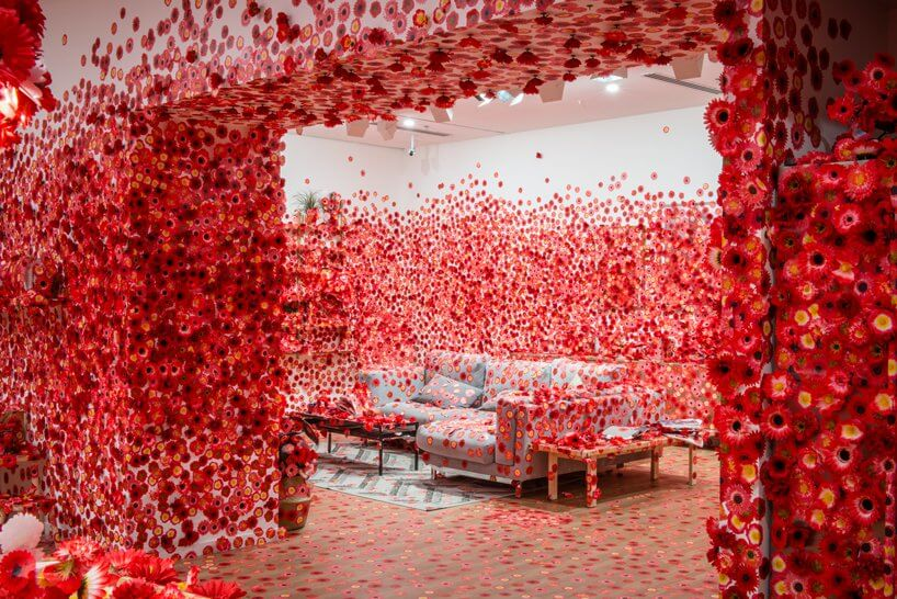 Yayoi Kusama Flower Obsession Looks Like An Explosion Of