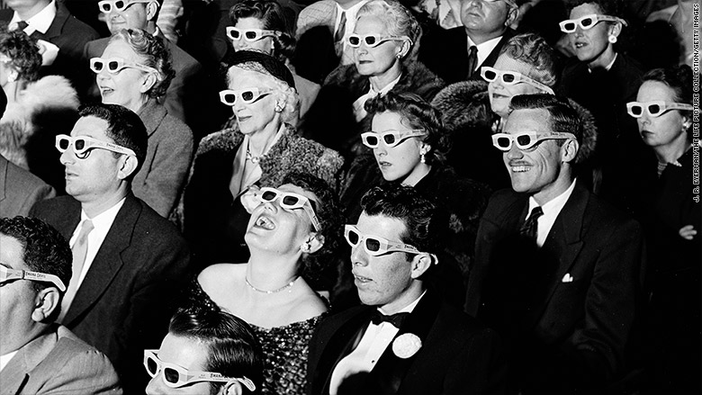 First 3D films ever