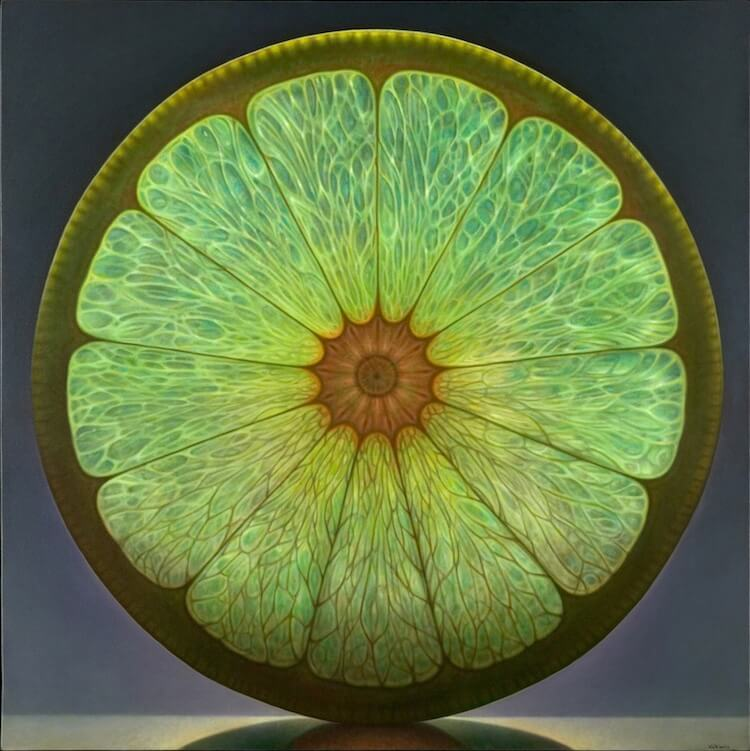 dennis wojtkiewicz detaild fruit paintings 1 (1)