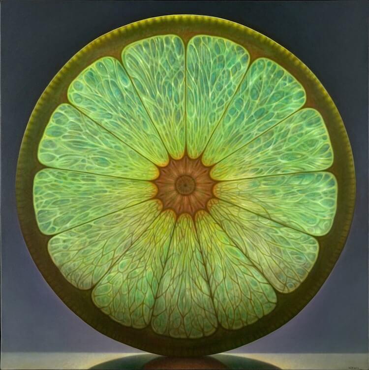 dennis wojtkiewicz detaild fruit paintings 1 (1)