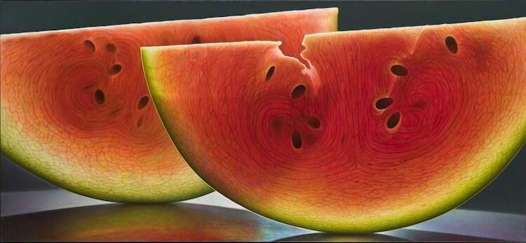 dennis wojtkiewicz detaild fruit paintings 2 (1)