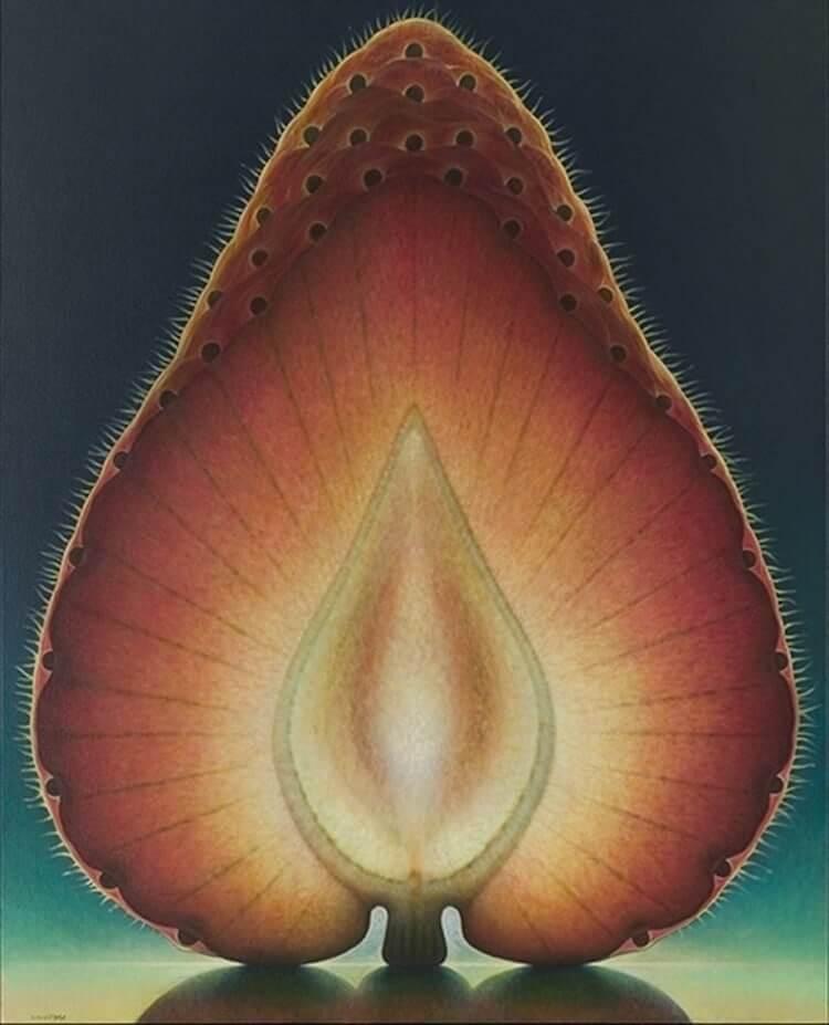 dennis wojtkiewicz detaild fruit paintings 5 (1)