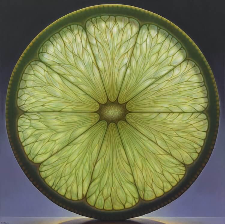 dennis wojtkiewicz detaild fruit paintings 8 (1)