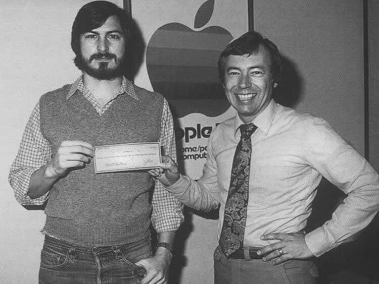 history-of-apple-in-pictures-first-investment