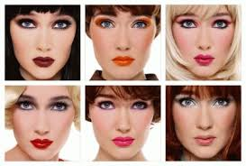 different makeup styles