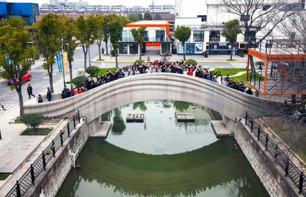 largest-3D-printed-bridge-Shangai