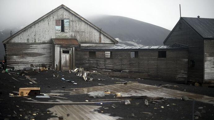 ghost town deception island