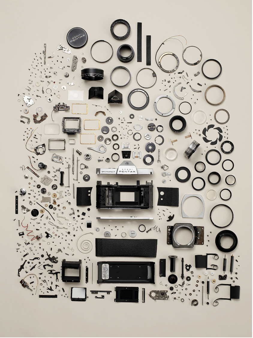 Todd McLellan photogaraphs tech to pieces