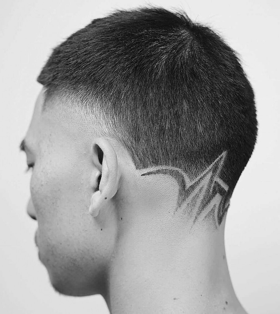 25 Cool Neckline Hair Designs to spice up your haircut anytime