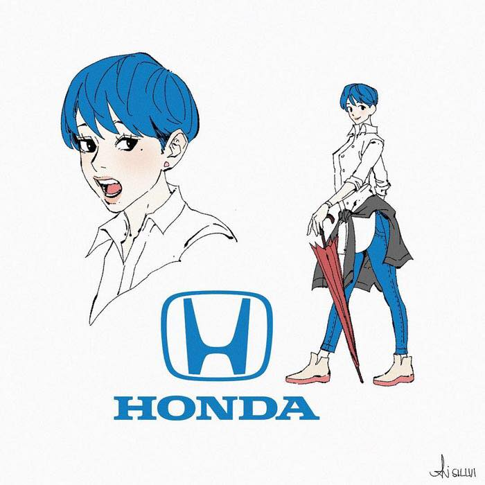 if brands were anime characters