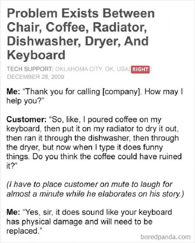 funniest customer stories ever