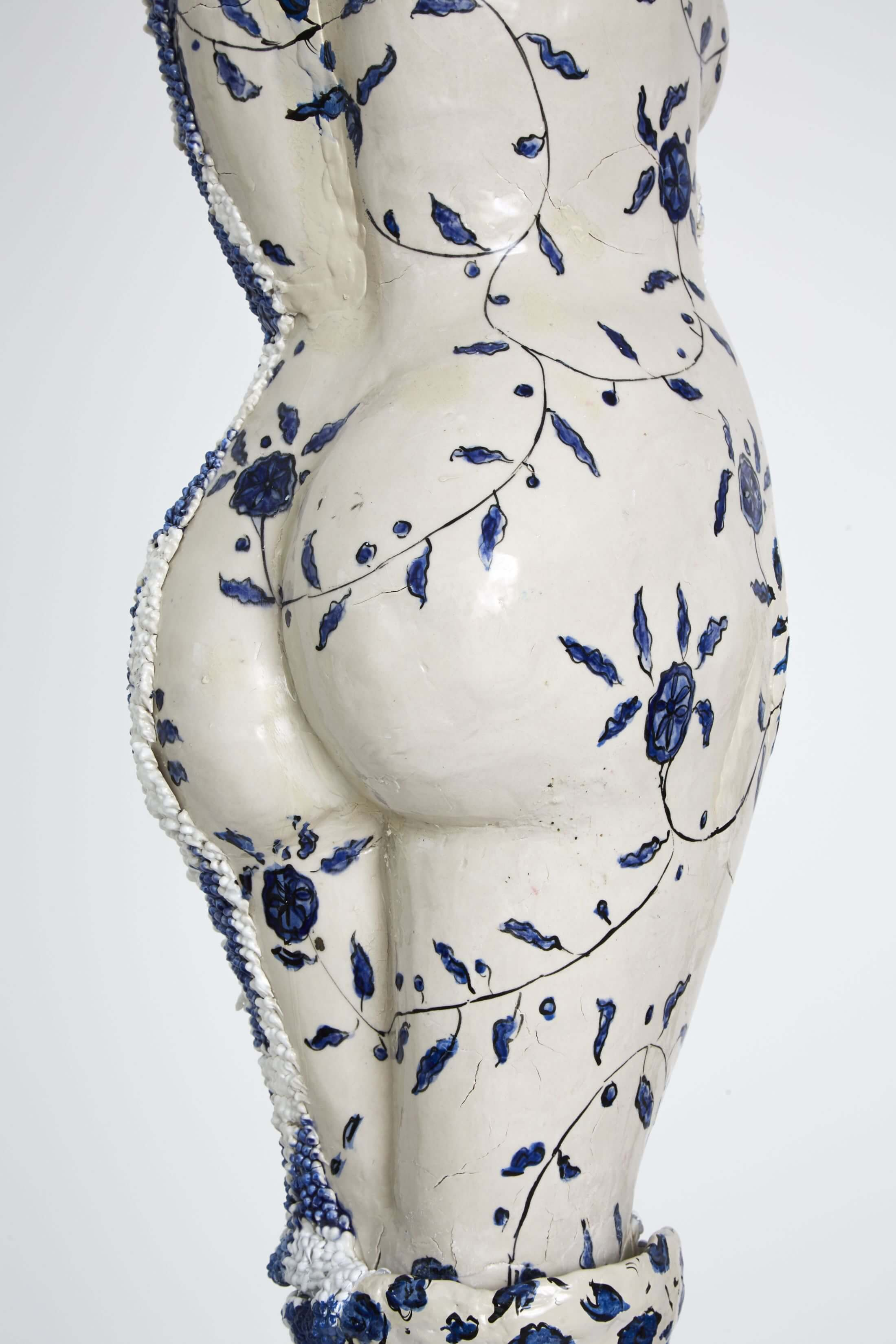 majestic large-scale porcelain sculptures exploring femininity 5