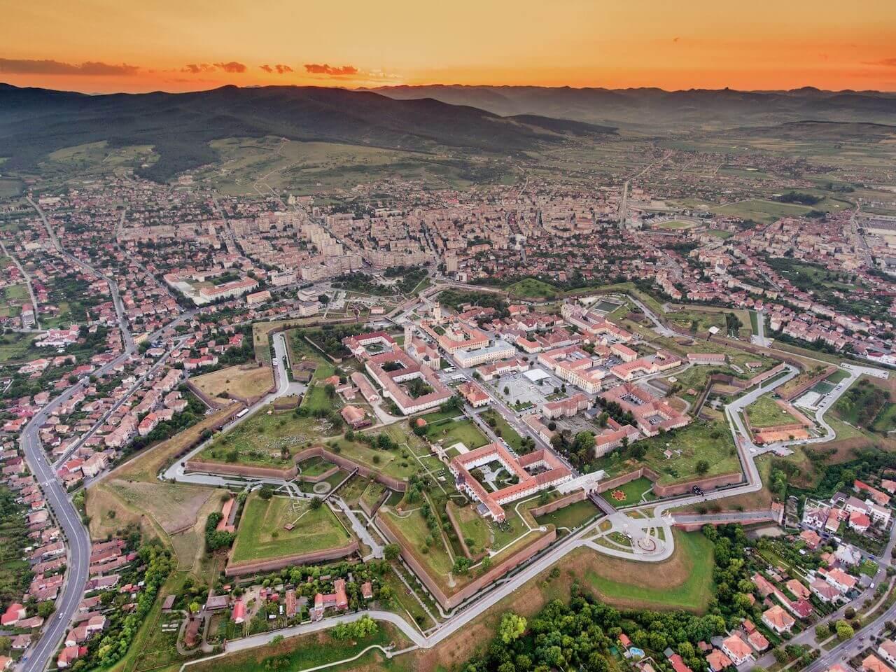 bewildering_castles_Romania_Alba Carolina Fortress