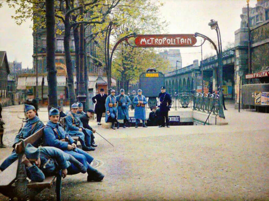 Oldest color photographs in the world