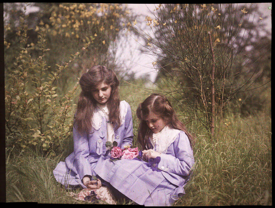 Oldest color photographs in the world 2