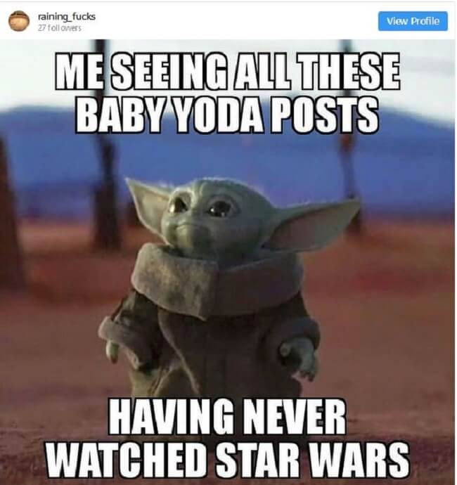 Baby Yoda Memes have taken over the Internet