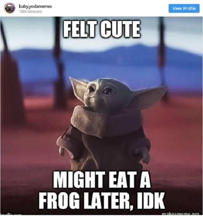 baby yoda memes