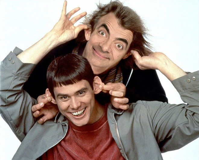 What if Mr Bean played Dumb and Dumber