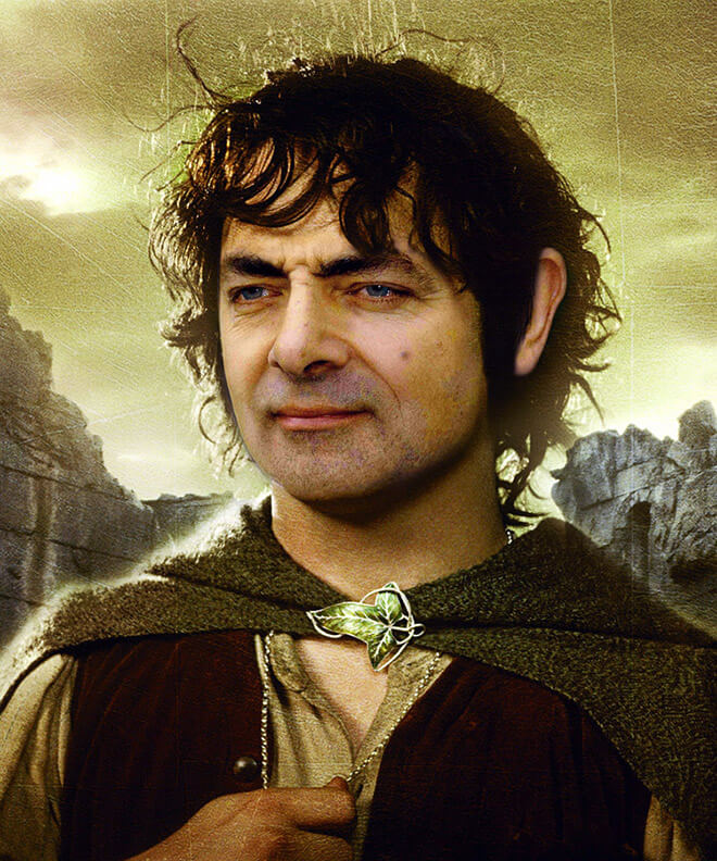 What if Mr Bean played Frodo Baggings