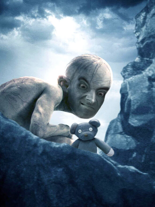 What if Mr Bean played Gollum