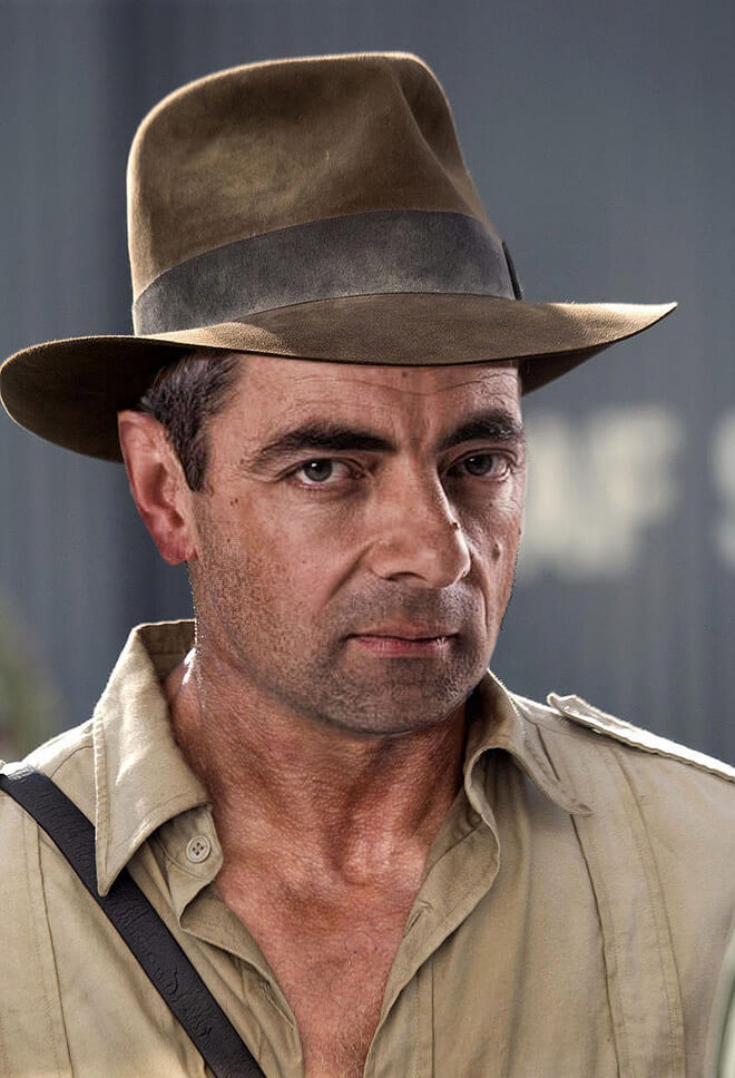 What if Mr Bean played Indiana Jones