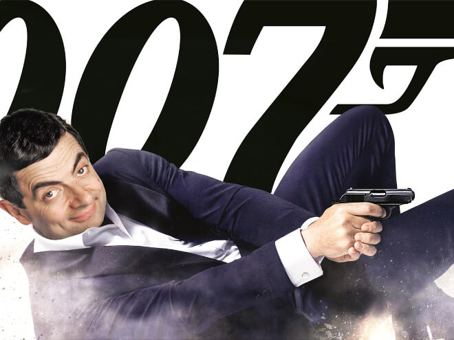 What if Mr Bean played James Bond