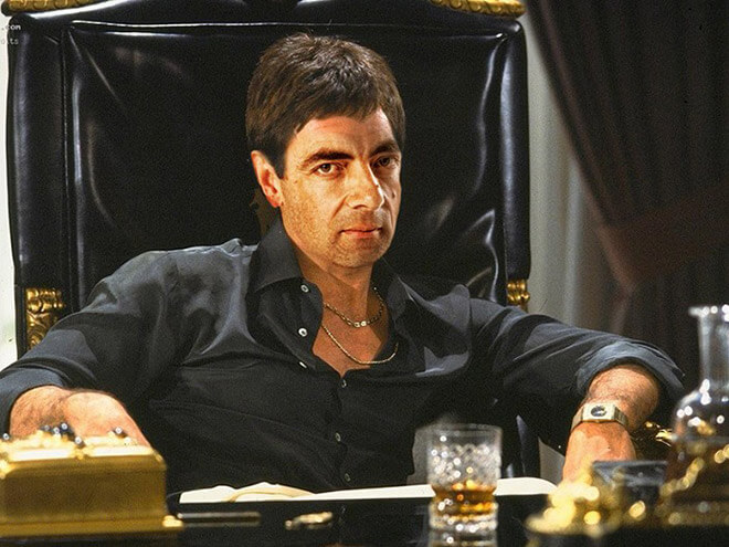 What if Mr Bean played Scarface